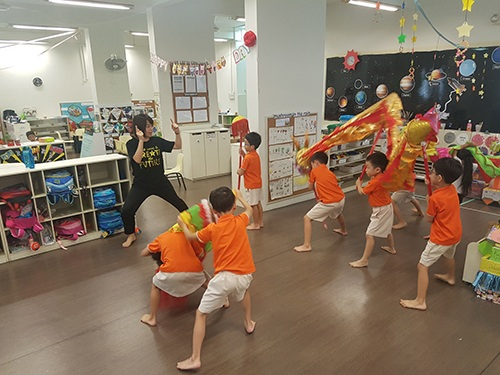 Top Preschool in Singapore - Lunar New Year Traditions (Inspire)
