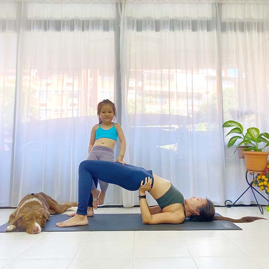 Parent-Child Yoga Poses