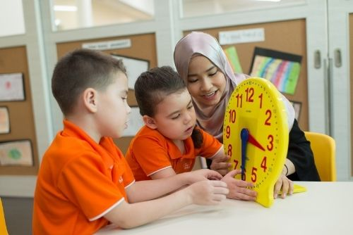 teaching teaching children on the concept of time